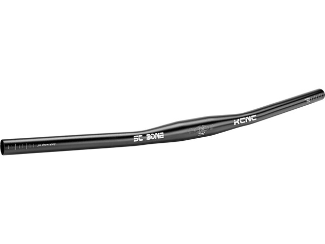 KCNC SC Bone Flat Bar Ø31,8mm 10° Backsweep black